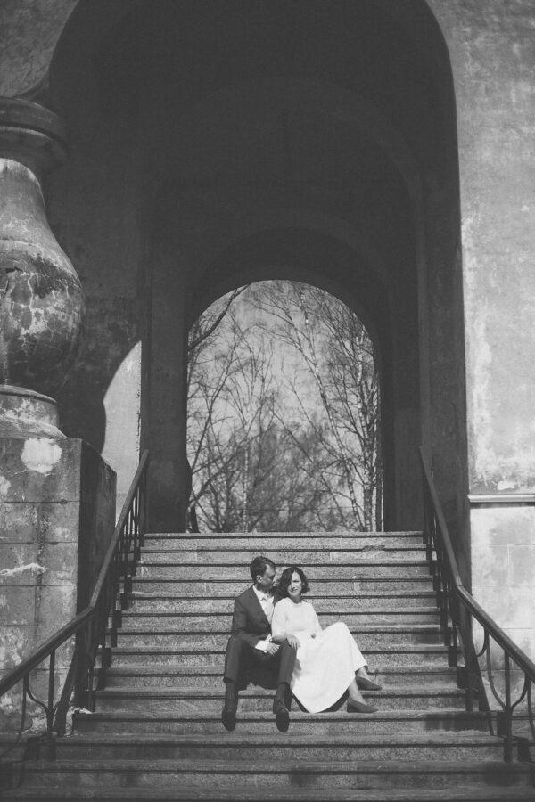 Pulmafoto portree pruutpaarist