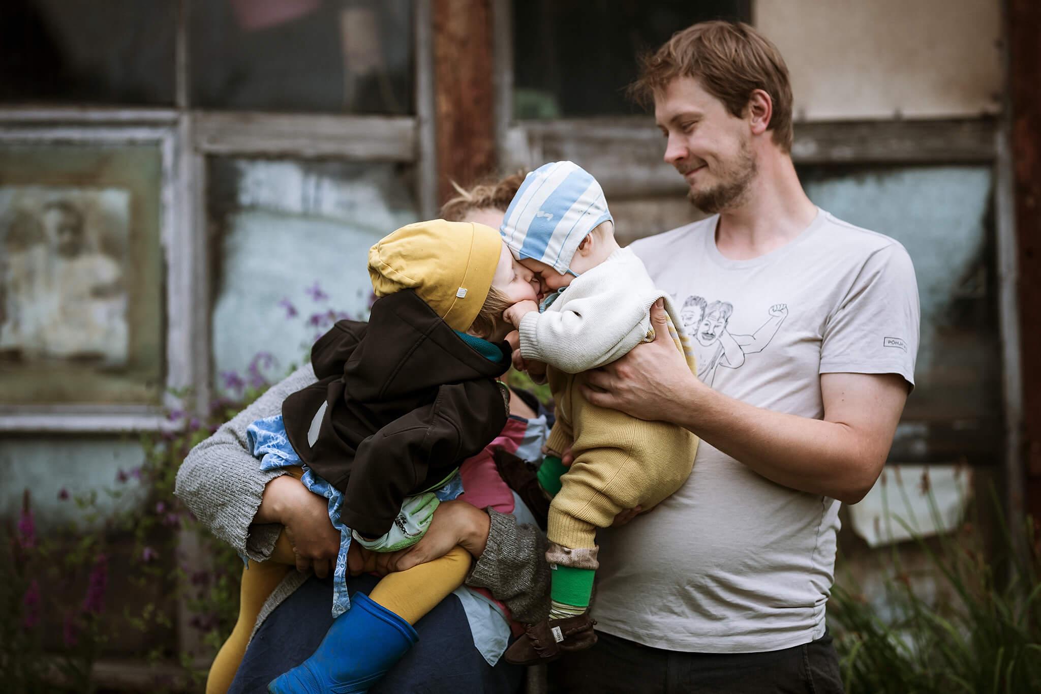 elustiili foto perest, lapsed musitavad