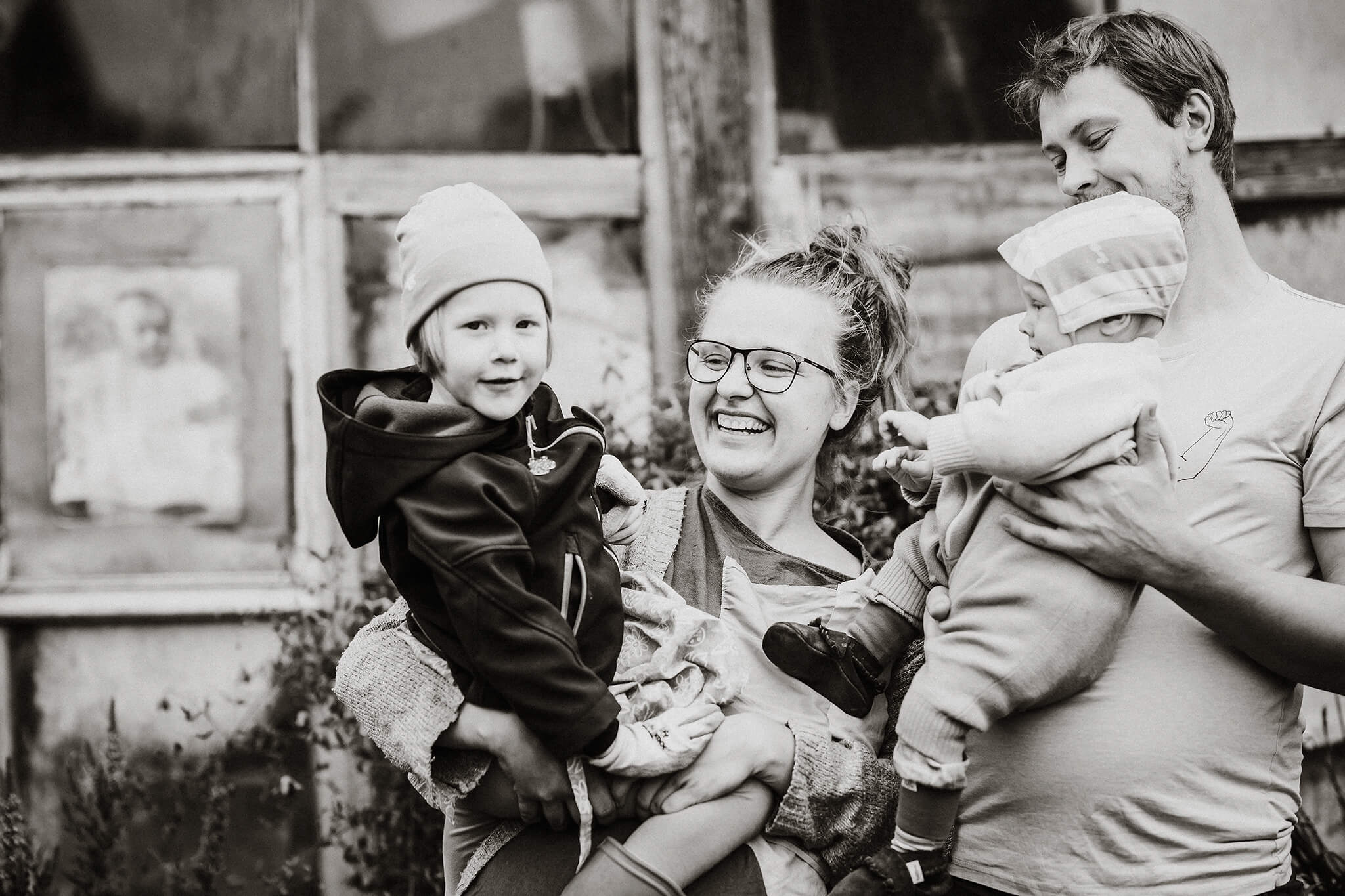 elustiili foto perest aias, lapsed süles